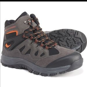 High Sierra | Gray Hiking Boots Lace Up Boys 4